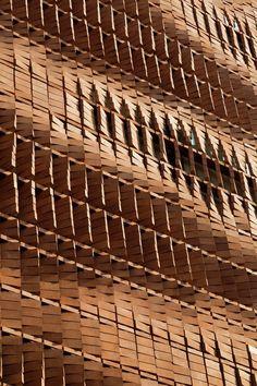 5osA: [오사] :: *벽돌만으로 다이나믹한 생명을 불어넣은 테헤란의 건물-[ Admun Design & Construction Studio ] Cloaked in Bricks