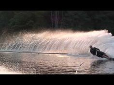 Deep fast lake, boat churning at nearly 4000 RPM and one helluva ski set at 36 MPH. Getting into 32 off on this water is about . Malibu Boats, Slalom Skiing, Ski Set, Parasailing, Used Boats, Fishing Boats, Bass Fishing, Water Activities, Ski And Snowboard