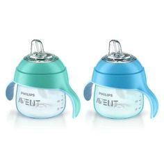 Philips Avent Teal/ /Silicone My Penguin 7-ounce Sippy Cup
