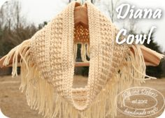 Diana Cowl, a free pattern, by Divine Debris