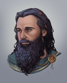 """A portrait commission of a Dwarven Lord - now to finish and send off Patreon rewards for the month! Character Concept, Character Art, Character Design, Character Reference, Character Ideas, Fantasy Portraits, Character Portraits, Fantasy Races, Fantasy Rpg"