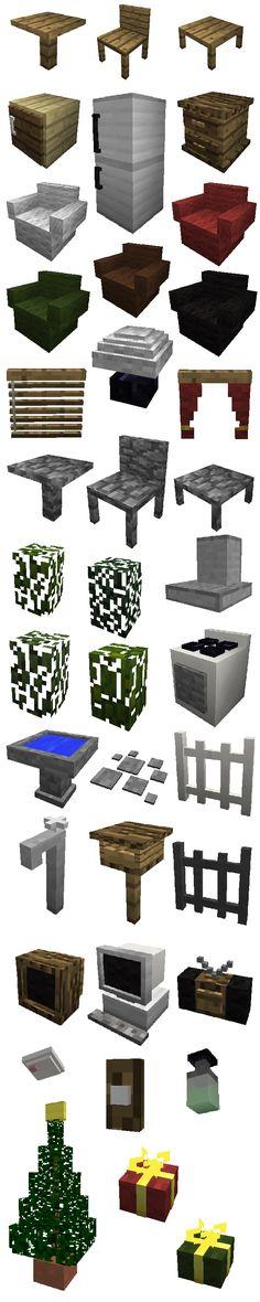 Objetos caseiros no Minecraft