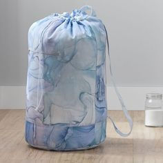 Equal parts fashionable and functional, this large laundry pack has got your back. You'll love how much laundry it can fit, the zippered pocket for detergent and easy draw-string opening. When you're toting your laundry across campus or even down the hall, a laundry backpack comes in extra handy thanks to its soft shoulder straps. Pottery Barn Teen Recycled Large Essential Laundry Backpack Healthy Nights, Pottery Barn Teen, Pbteen, Cotton Bedding, Dorm Room Storage, Unique Backpacks, Emily And Meritt, Free Design, Best Build