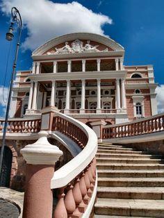 Teatro Amazonas Manaus #Brazil