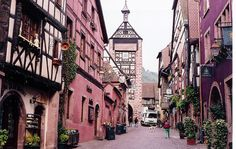Alsace, Riquewihr by m. muraskin-france, via Flickr.
