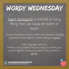 Did you know almost 36% of Americans have low health literacy? Check out this Wordy Wednesday #BeaHealthLiteracyHero #healthliteracymonth