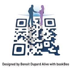 QR Code designé pour GDF SUEZ par Benoit Dupard Gdf Suez, Qr Codes, Healthy Lifestyle, Coding, Design, Design Comics, Programming, Healthy Life