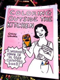 Small Women's History Coloring Book by coloringoutside on Etsy