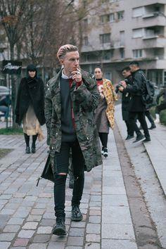 Fucking Young! » STREETSTYLE | Paris Fashion Week FW14 by Greta Carroll