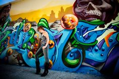 Barrio Logan Graffiti Art (Crol vs. Werc x Pose2) Portrait