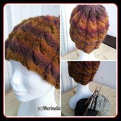 #handspun #hat #cables #merinelle