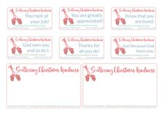 Simple Ways to Scatter Christmas Kindness — The Better Mom Christmas Gifts To Make, 12 Days Of Christmas, Christmas Wrapping, Family Christmas, Christmas Crafts, Christmas Decorations, Christmas Ideas, Free Printable Cards, Free Printables
