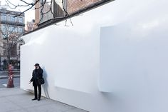 Shrink wraps NY's storefront for art and architecture | Manhattan, New York | SO-IL | photo by Iwan Baan