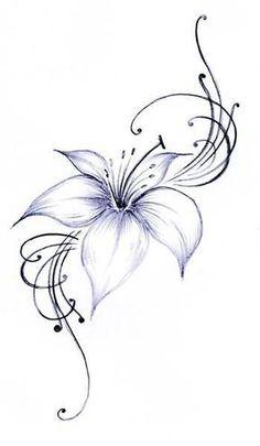 Bildergebnis für tattoo lilie #FlowerTattooDesigns