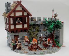 #LEGO upalovani carodejnic