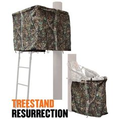 Cottonwood Outdoors Weathershield Treestand Resurrection ADA Blind System Kit 000 - Hunting Stands/Blinds/Accessories at Academy Sports Tree Stand Accessories, Hunting Accessories, Hunting Blinds, Hunting Season, Outdoor Woman, Valance Curtains, Two Piece Skirt Set, Kit, Outdoors