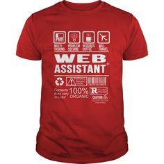 Web Assistant T Shirt