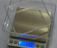 不锈钢厨房秤大秤盘茶叶秤 珠宝称2000克/0.1克台称 电子秤送托盘-淘宝网
