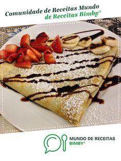 Crepes Doces de Mariana Filipa Guerreiro. Receita Bimby<sup>®</sup> na categoria Sobremesas do www.mundodereceitasbimby.com.pt, A Comunidade de Receitas Bimby<sup>®</sup>.