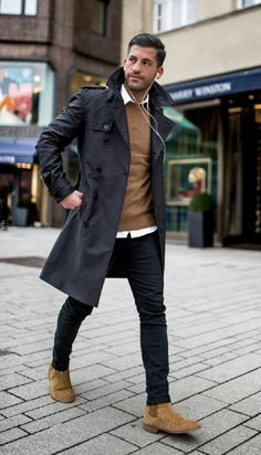 The perfect business men's fashion mens winter fashion mens smart casual fashion Men Looks, Mode Man, Fashion Mode, Fashion Outfits, Fashion Ideas, Fashion Clothes, Club Fashion, Fashion 2017, Men Clothes