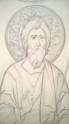 Byzantine Icons, Art Poses, Icon Design, Saints, Cartoons, Painting, Catholic Art, Frames, Orthodox Icons
