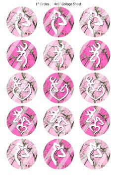"Digital Bottle Cap Images - Digital Collage (R493) 1"" Circles for Bottlecaps, Jewelry, Hairbows, Buttons. $2.25, via Etsy."