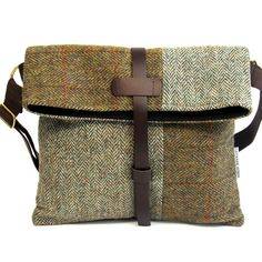 HARRIS TWEED MESSENGER FREYA - Catherine Aitken