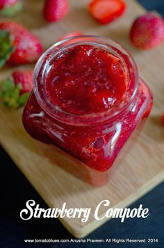 How To Make Strawberry Compote