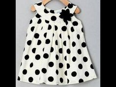 For your baby girl! {Cream Polka Dot Yoke Dress - Toddler & Girls by Willoughby} I am in polka-dot heaven today!Crafted out of breezy cotton, this yoke dress has precious pleats and a floral accent that will have sweethearts swooning. The half zipper Toddler Girl Dresses, Little Girl Dresses, Toddler Outfits, Girls Dresses, Toddler Girls, Infant Toddler, Little Girl Fashion, Fashion Kids, Cute Outfits For Kids