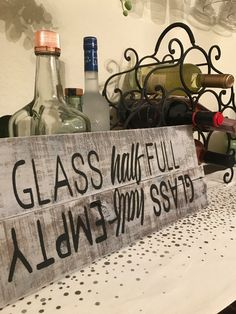 A personal favorite from my Etsy shop https://www.etsy.com/listing/488270004/glass-half-full-glass-half-empty-artwork