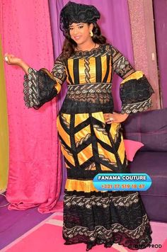 Korité 2019: The big ladies announce the colors Long African Dresses, Latest African Fashion Dresses, African Print Dresses, African Clothes, Sadio Mane, African Fashion Designers, African Traditional Dresses, African Beauty, African Style