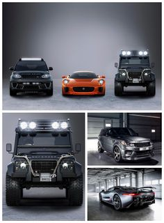HOLY ****! The Cars of James Bond 007 Spectre Revealed. The Baddies get some seriously cool cars... #spon #007