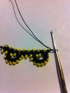 CouchCrochetCrumbs: Lets make a bead oya TOGETHER!