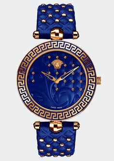 Versace WATCHES. A true expression of glamour and luxury that defines quintessential Versace style. #beauty #beautiful #positive #wealth #prestige #Luxury #Life #Rich #People #Fashion