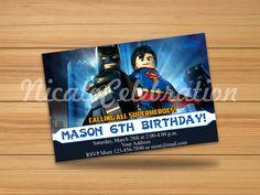 Lego Batman Superman - Digital File