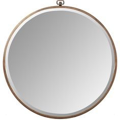 Taylor Round Oversized Wall Mirror