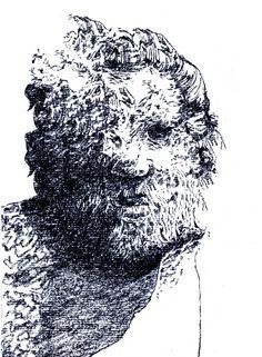 London Museum Drawing - www.thomasbarwick.com