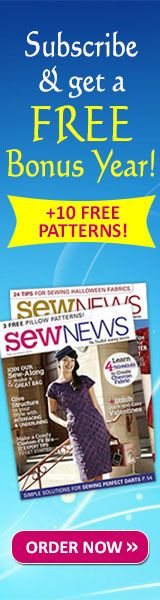 Easy Home Deco Sewing Projects | October/November 2010 | Sew News