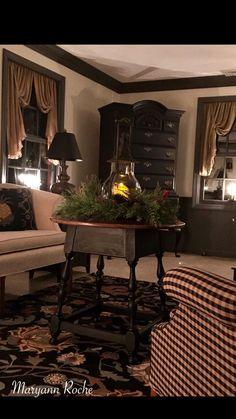 208 best colonial living rooms images in 2019 primitive living rh pinterest com