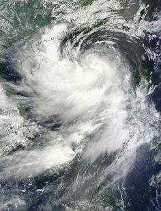 Typhoon Kai-tak (14W) approaching China