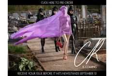A Model Strolls Naked(ish) Through a Cemetery in the First Issue of Carine Roitfeld's CR Fashion Book – Fashionista: Fashion Industry News, Designers, Runway Shows, Style Advice