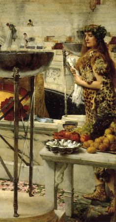 The Athenaeum - Preparation in the Colosseum (Sir Lawrence Alma-Tadema - )
