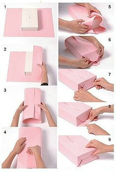 Creative Gift Wrapping, Creative Gifts, Wrapping Presents, Christmas Gift Wrapping, Christmas Diy, Gift Wrapping Tutorial, Gift Wrapping Techniques, Gift Wraping, Diy Gift Box