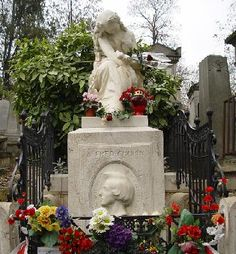 Chopin, Pere Lachaise.  I've never been there when there have not been fresh flowers.