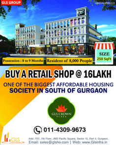 Retail Shop in South of Gurgaon Affordable Housing, 9th Month, Retail Shop, Shops, How To Plan, Crowd, Real Estate, Stuff To Buy, Shopping