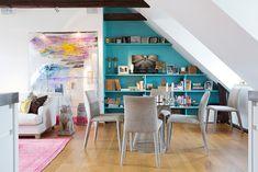瑞典 45 坪頂樓柔性公寓住宅