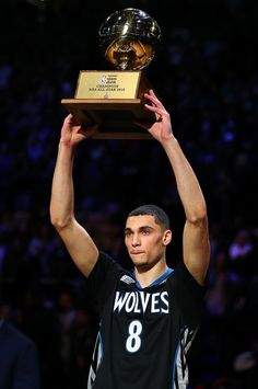 Zach LaVine : The best photos from NBA All-Star Saturday night