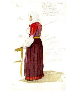 pittori sardi costumi di sardegna - Cerca con Google