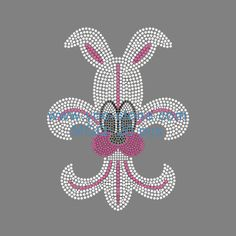 Easter bunny Rhinestone Transfer Wholesale For Children Clothes