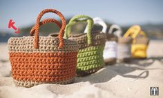 Crochet Basket -  PDF Pattern & Chart (English/Español) ♥